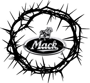 crown of thorns mack truck