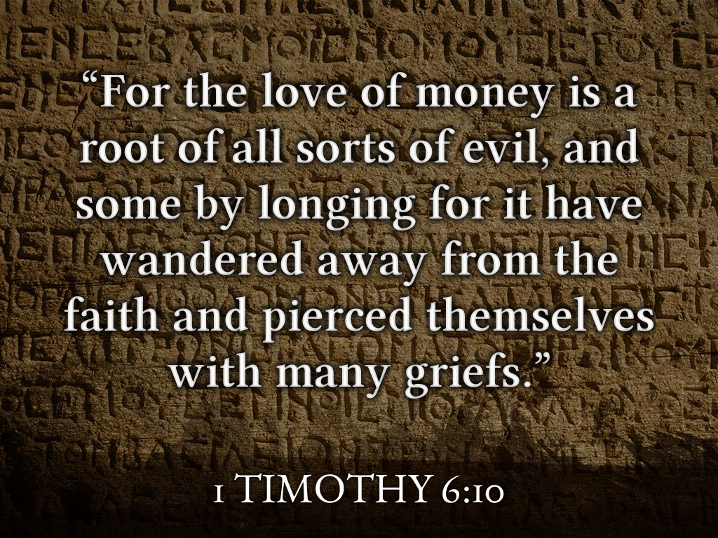 1 Timothy 6_10
