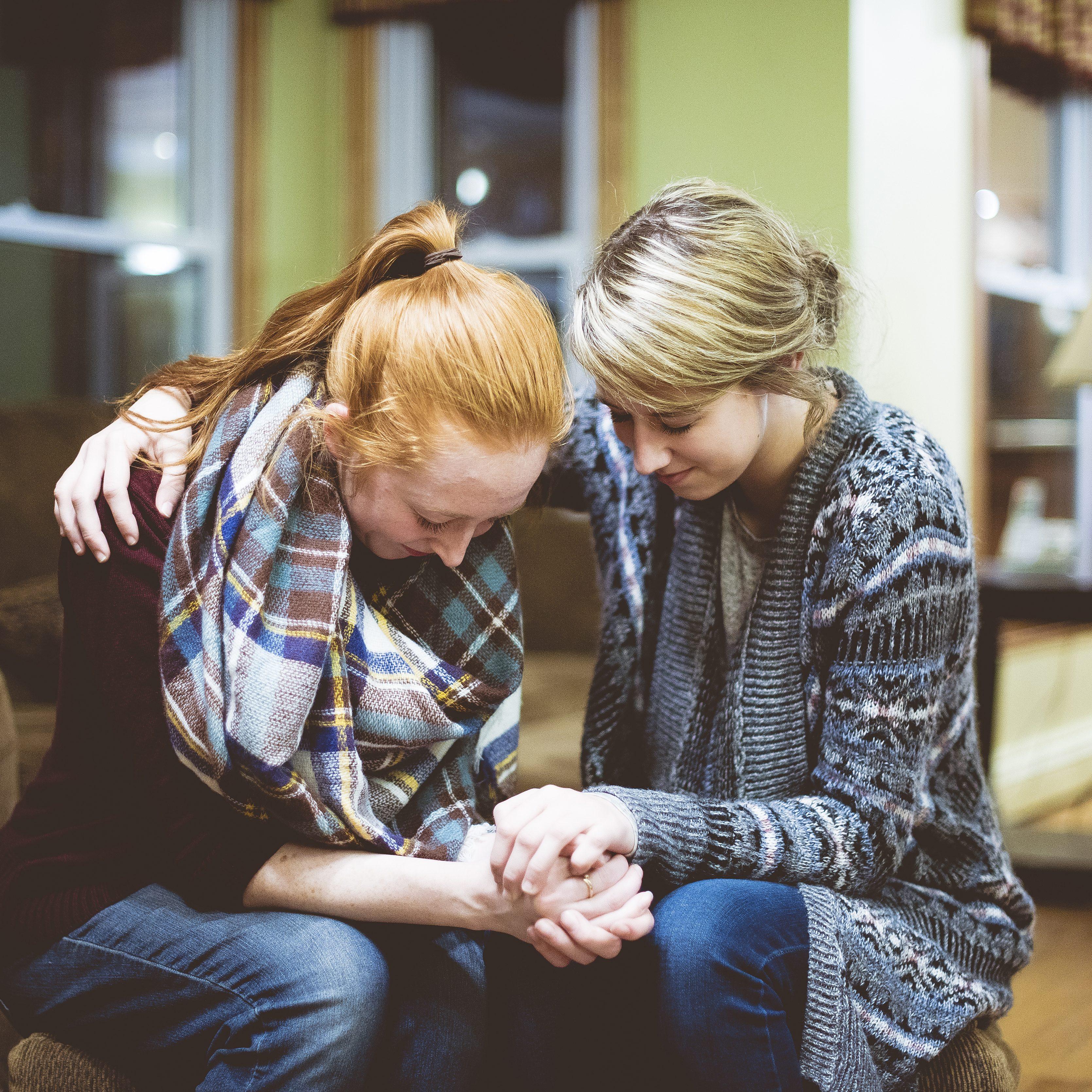 Youth Friends Praying