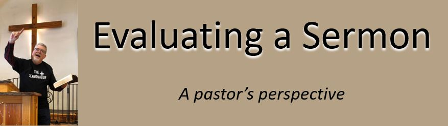 evaluating a sermon