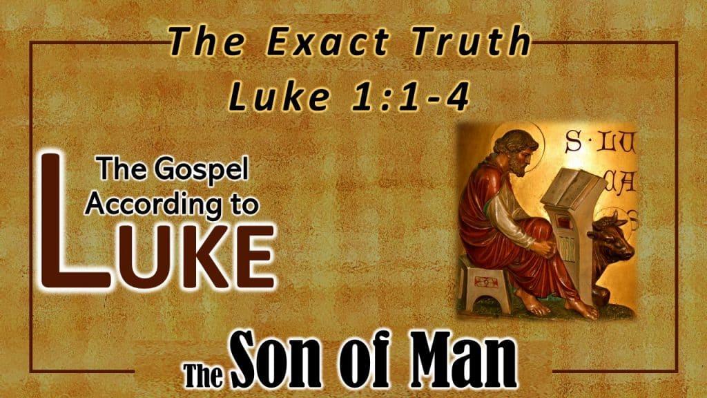 01 Gospel according to Luke 1 1-4