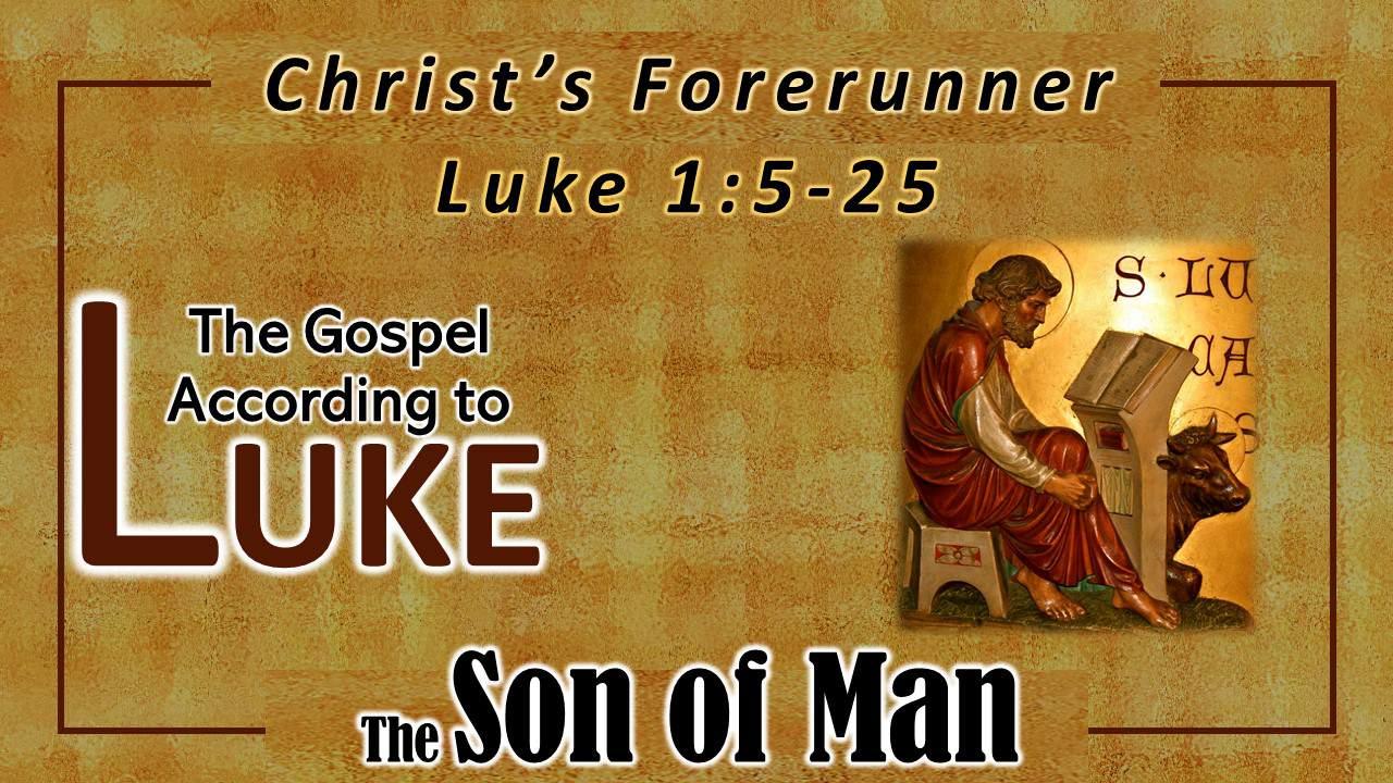 Christ's Forerunner