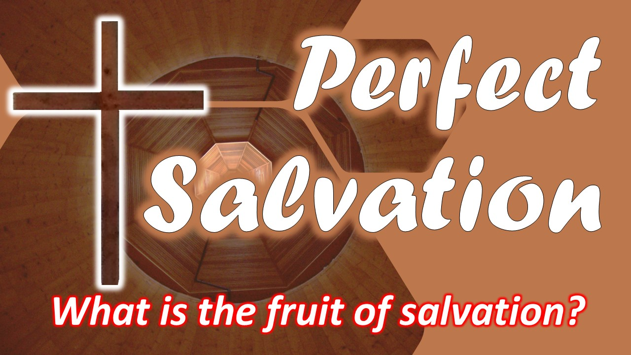 What is the Fruit of Salvation? (part one)