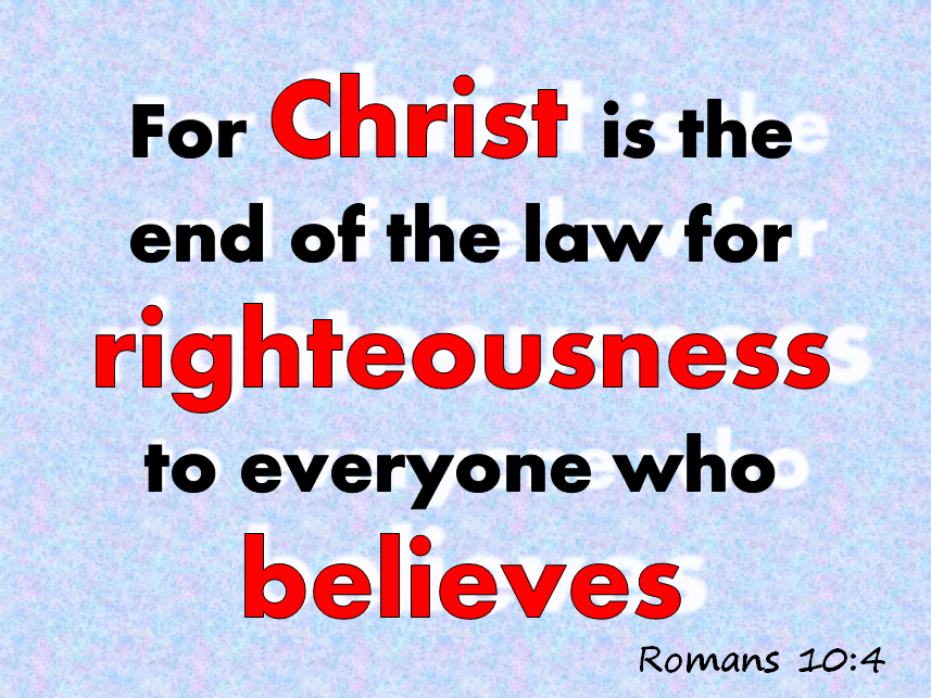 Pursue Righteousness by Faith