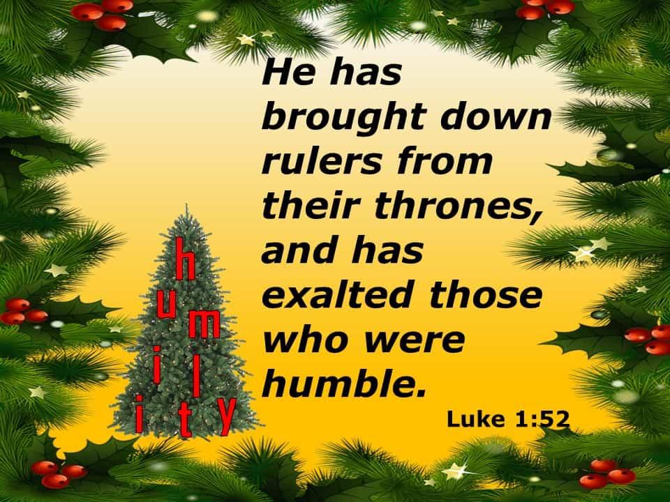 Luke 1 52