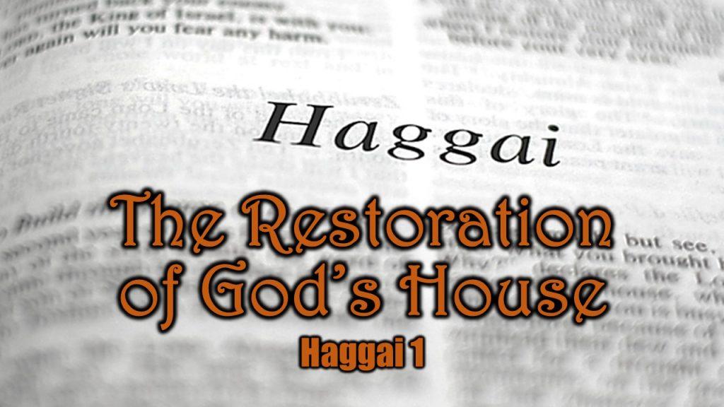 Haggai 1