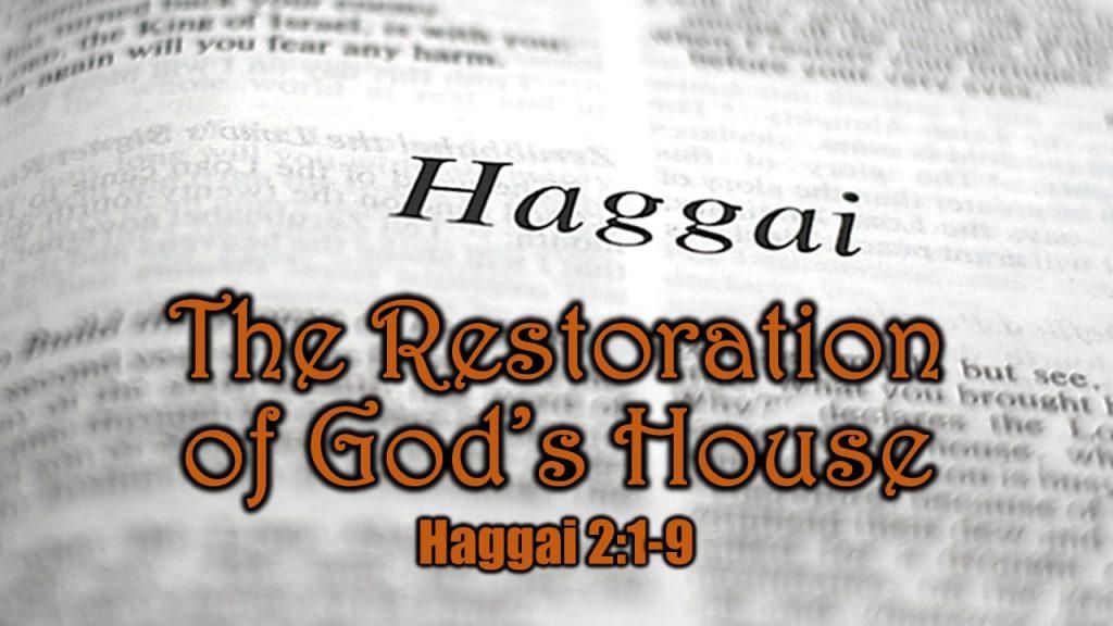 Haggai 2 1-9
