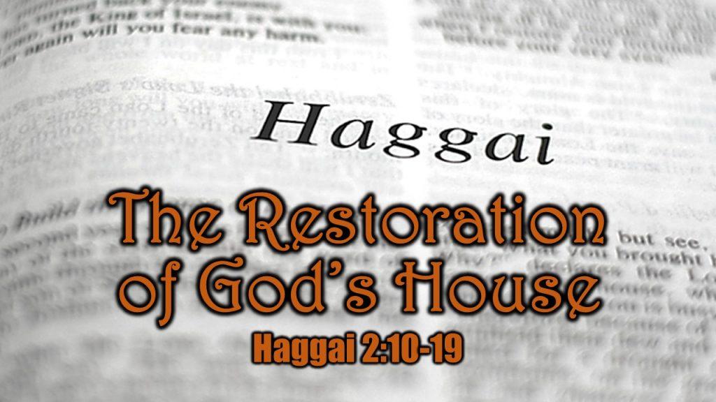 Haggai 2 10-19