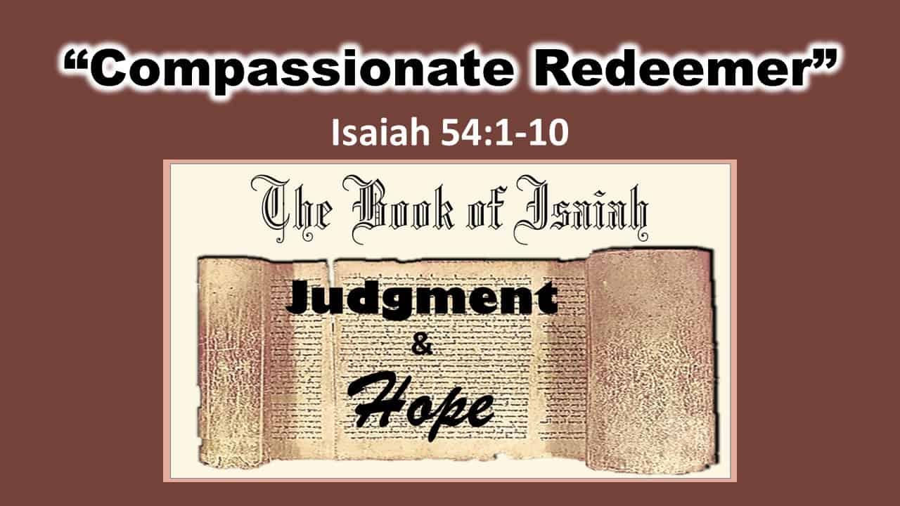 Compassionate Redeemer