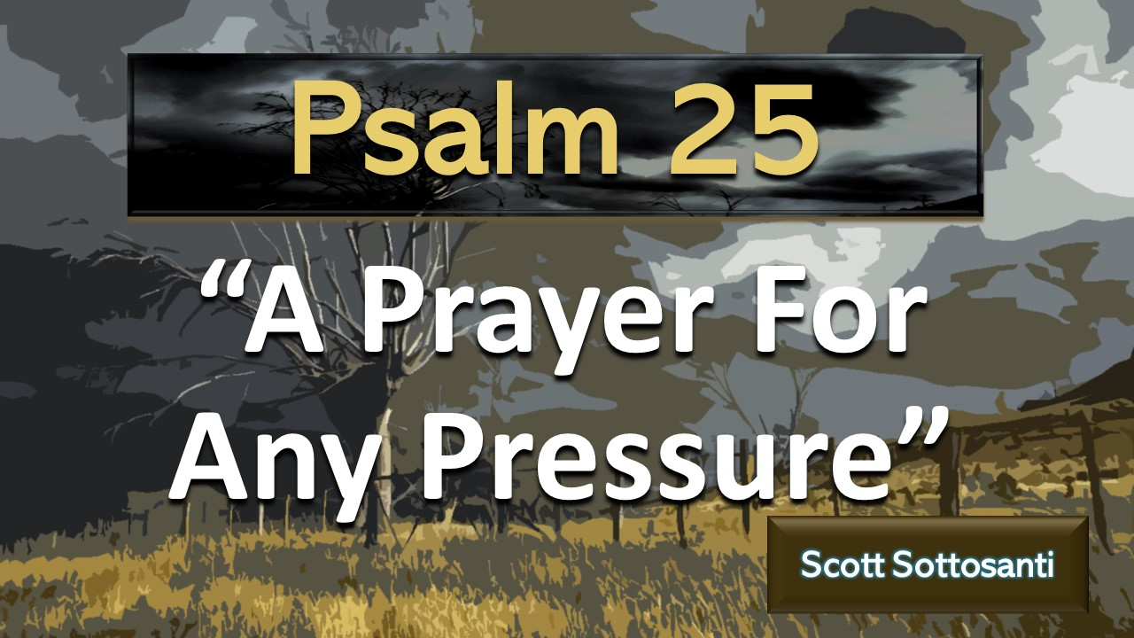 A Prayer For Any Pressure