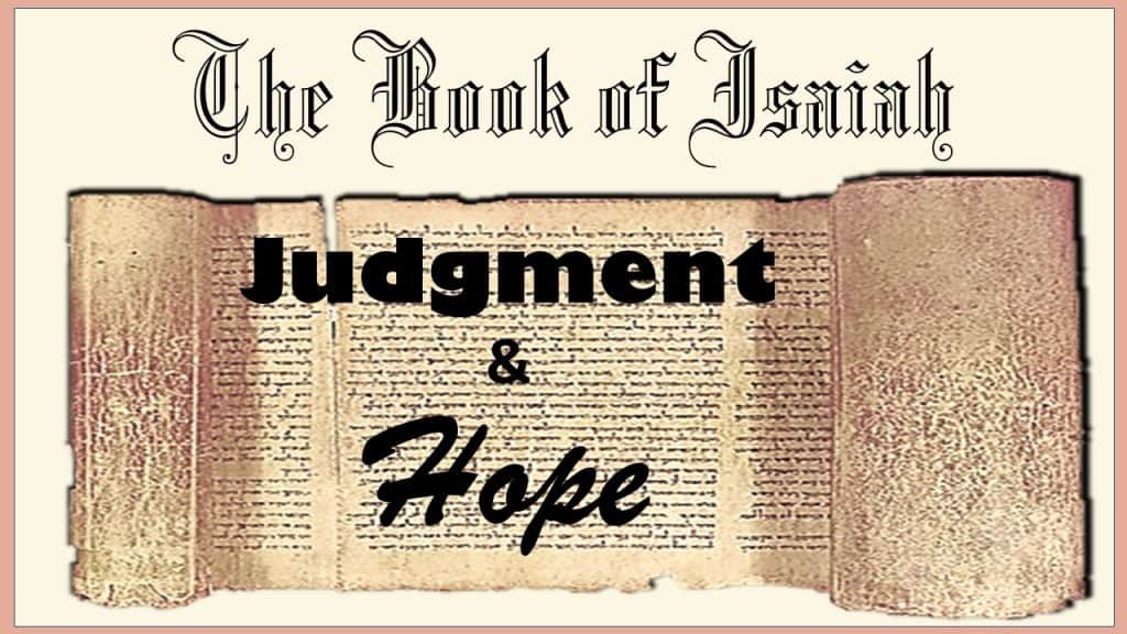 Judgment and Hope