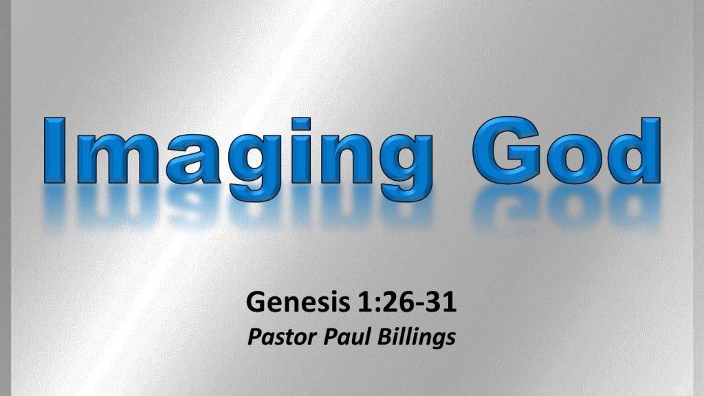sermon imaging God